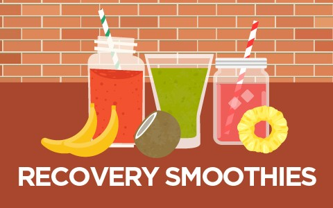 Recovery smoothies Cover