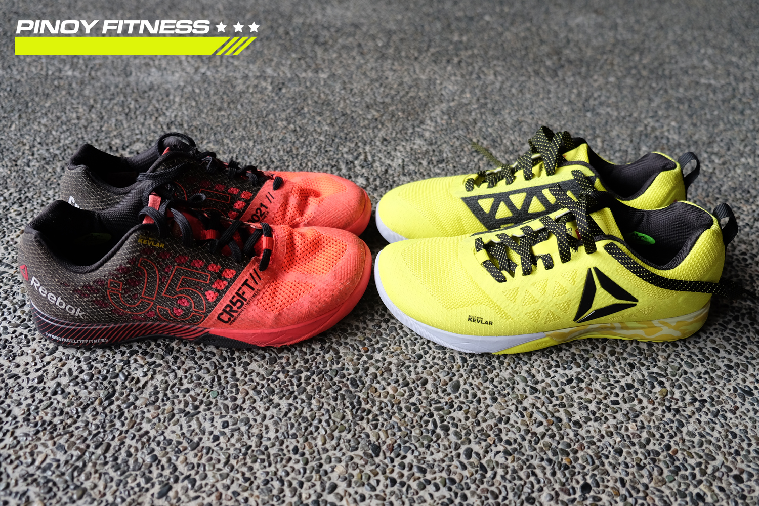 Reebok Crossfit Nano 6.0 Test