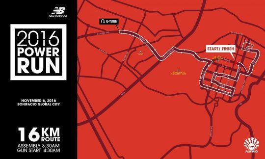 16K Race Map