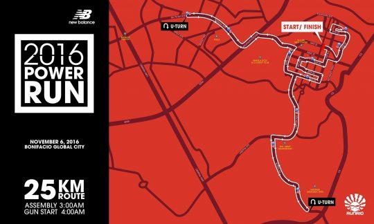25K Race Map