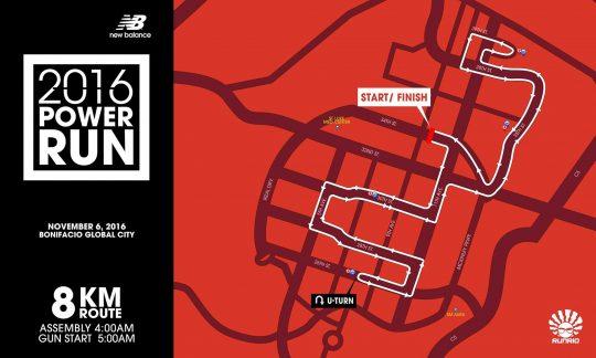 8K Race Map