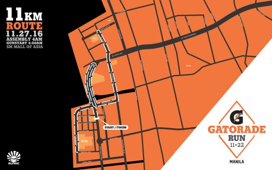 Gatorade Run Maps