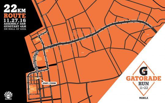 Gatorade Run Maps