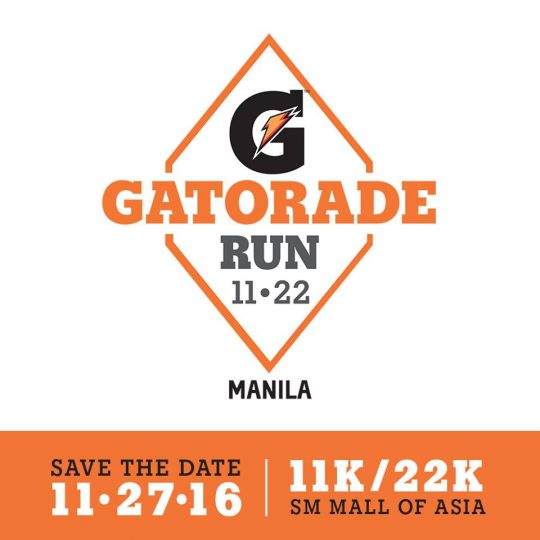 Gatorade Run 2016 Poster
