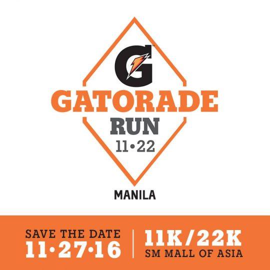 Gatorade Run 2016 Poster
