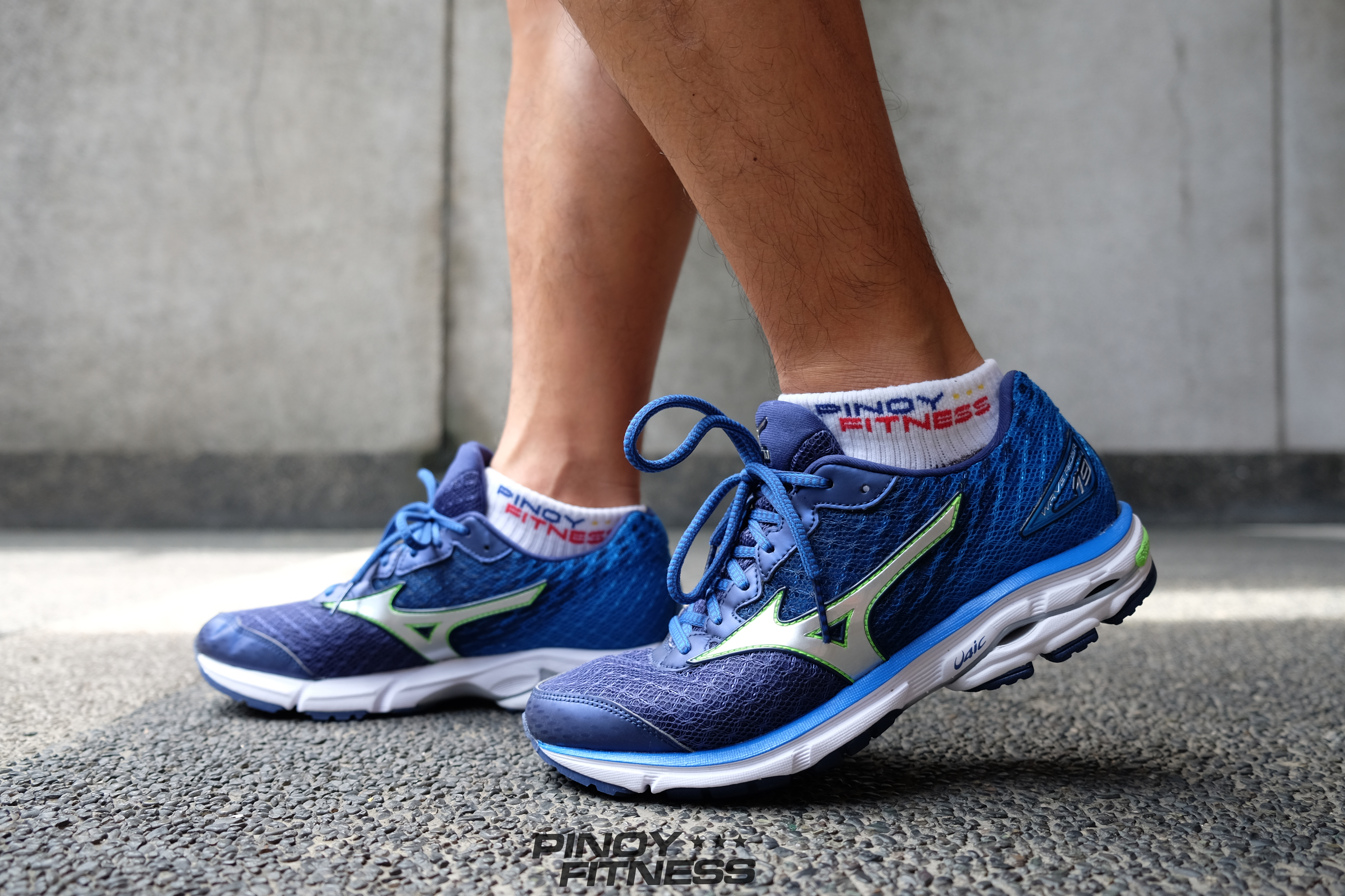 mizuno wave rider 19 fit