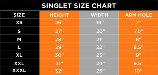splendido-sunset-run-2016-singlet-size-chart