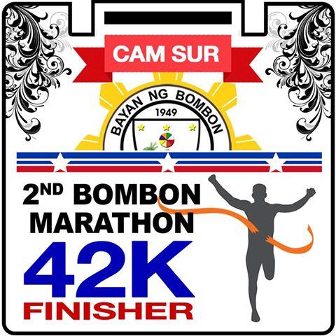 2nd Bombon Marathon 2016 Medal 42k