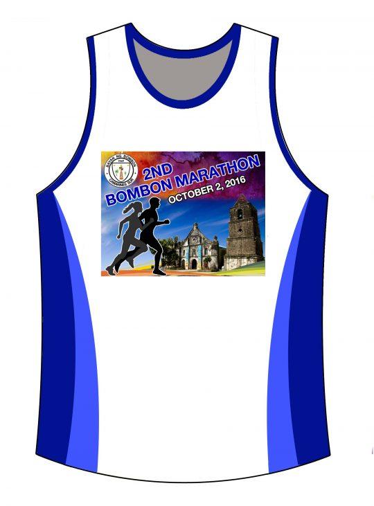2nd Bombon Marathon 2016 Singlet