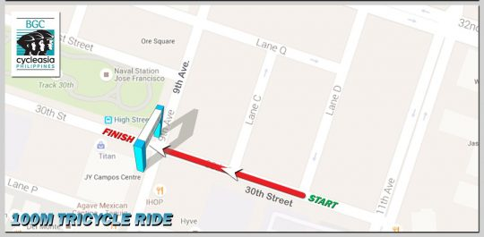 BGC-Cycle-Phils-100m-Tricycle-Ride-Route-Map