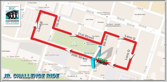 BGC-Cycle-Phils-Junior-Challenge-Route-Map