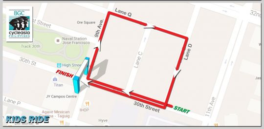 BGC-Cycle-Phils-Kids-Ride-Route-Map