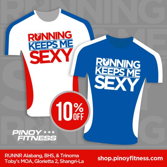 Running Keeps Me Sexy 10  Off
