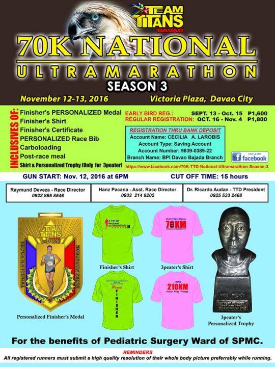 ttd-70k-national-ultra-marathon-poster