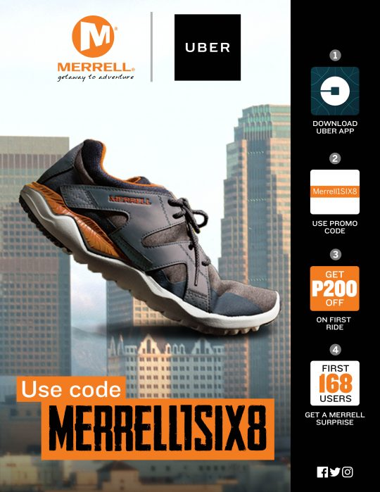 64dd30a0041 Check out the 1SIX8 and other lifestyle shoes in Merrell stores at TriNoma,  SM North Annex, Glorietta 3, Market! Market!, Festival Mall Alabang, ...