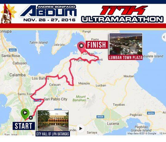 andres-bonifacio-ultramarathon-2016-map