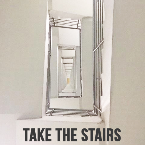 taking-the-stairs