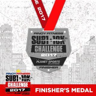 PF SUB1 2017 Medal