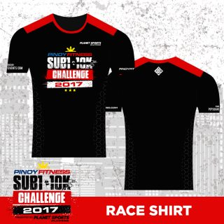PF SUB1 2017 Race Shirt