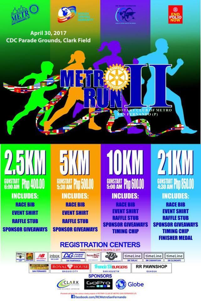 Metro Run Ii 2017 In Clark Field Pampanga Pinoy Fitness