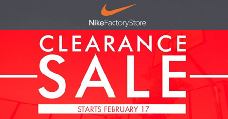 Nike Factory Clearance Sale! | Pinoy