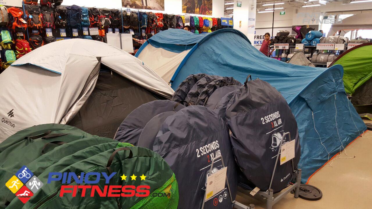 Decathlon Philippines Tents Setup
