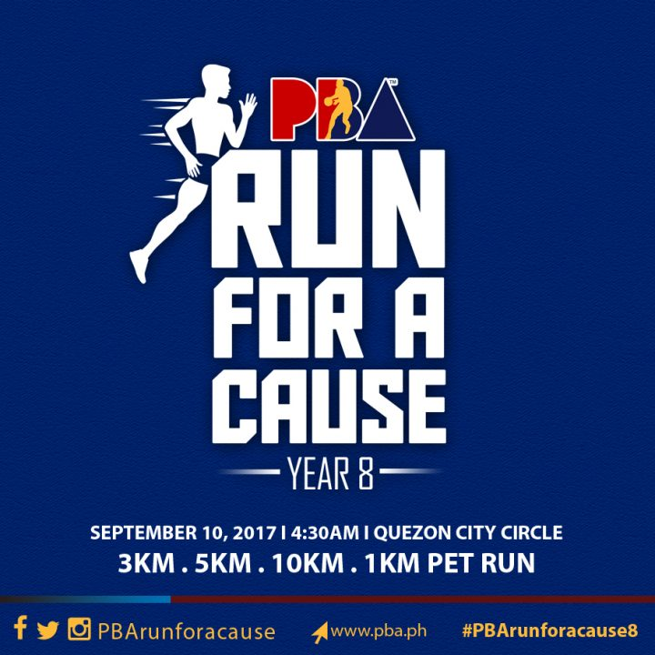 Pba run for a cause 2017 in quezon city circle pinoy fitness pba run for a cause 2017 in quezon city circle malvernweather Image collections