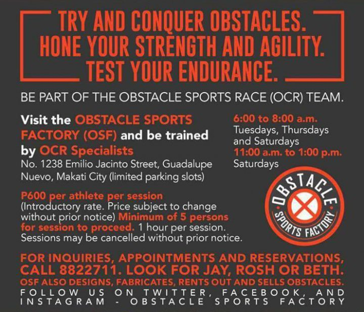 Ph Spartan Obstacles Race To Before Fitness Master 6 The Pinoy