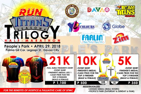 Run with the Titans 2018 in Davao | Pinoy Fitness