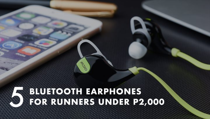 56e231a2422 Bluetooth earphones are a big hit with runners simply because it allows you  to listen to music without having to deal with long cords that tangle and  ...