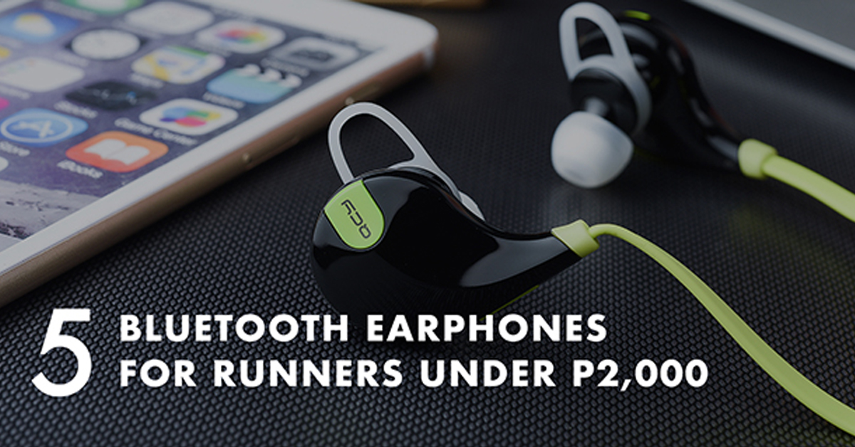 5 Bluetooth Earphones For Runners Under P2 000 Pinoy Fitness