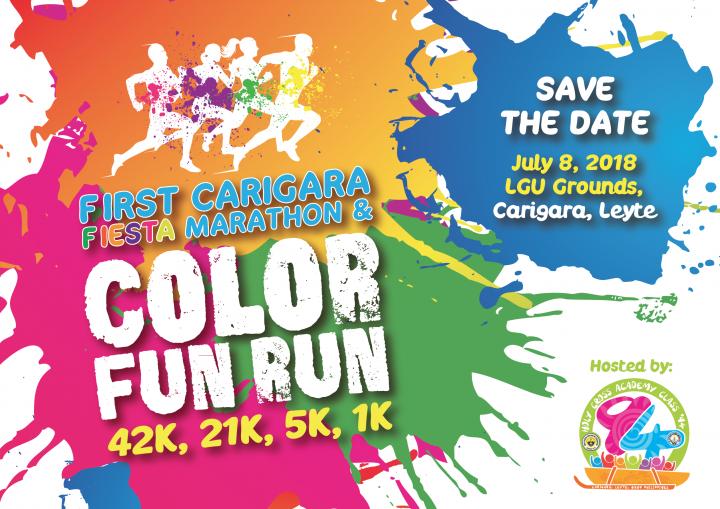 Carigara Fiesta Marathon And Color Fun Run 2018 Pinoy Fitness