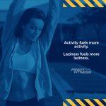Activity fuels more activity