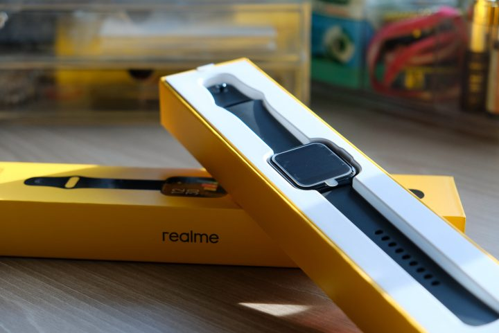 Photo of Realme Watch in black