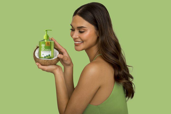 Pia Wurtzbach for DR. COCO hand soap